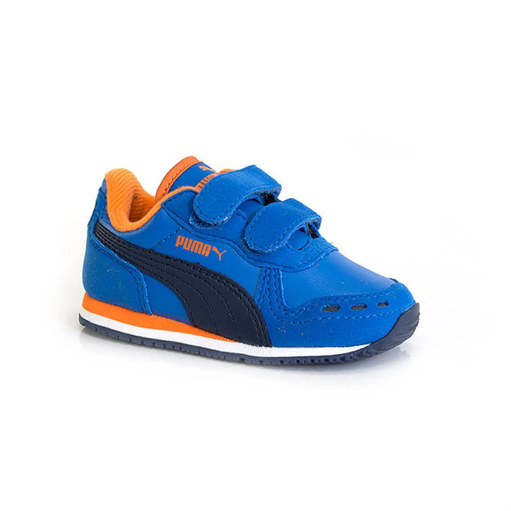 018030338-1-Tenis-Puma-Cabana-Racer-Infantil-marinho-velcro