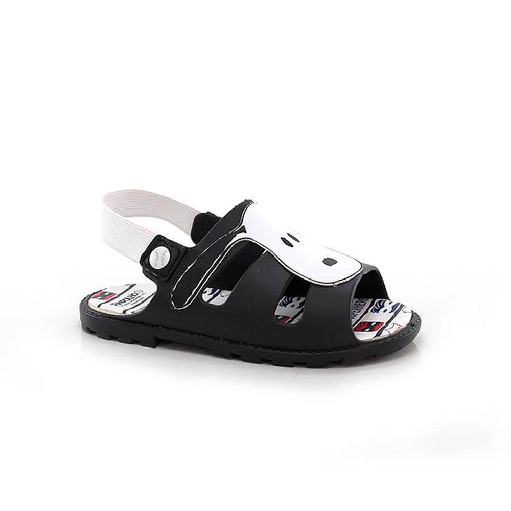 018110024-Sandalia-Pimpolho-Snoopy-Linha-Colore-Infantil-Preto