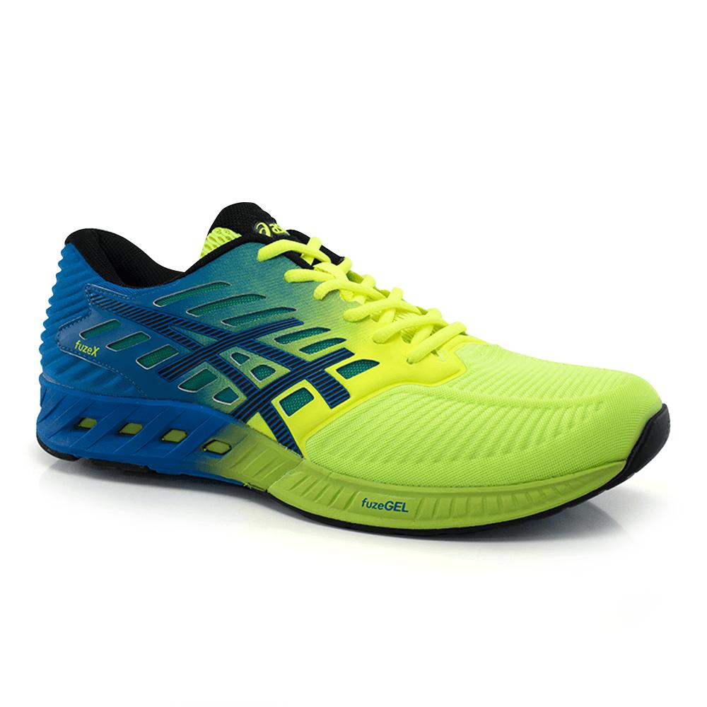 016020748-Tenis-Asics-Fuze-X-Azul-Amarelo-Masculino