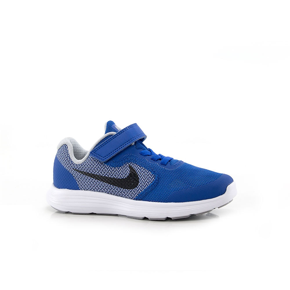 7646760dfb4 Tênis Nike Revolution 3 Infantil Azul - Way Tênis - Way Tenis