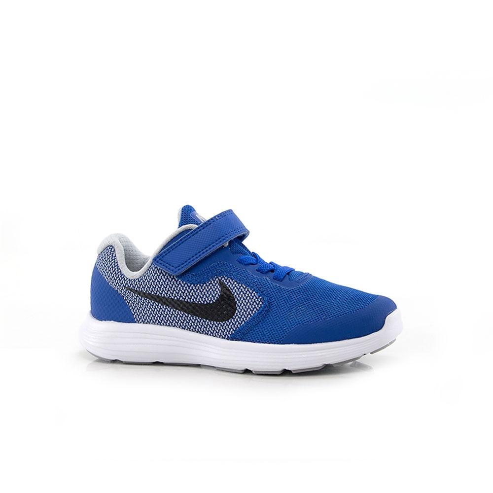 Tênis Nike Revolution 3 Infantil Azul - Way Tênis - Way Tenis 7703edddfda72
