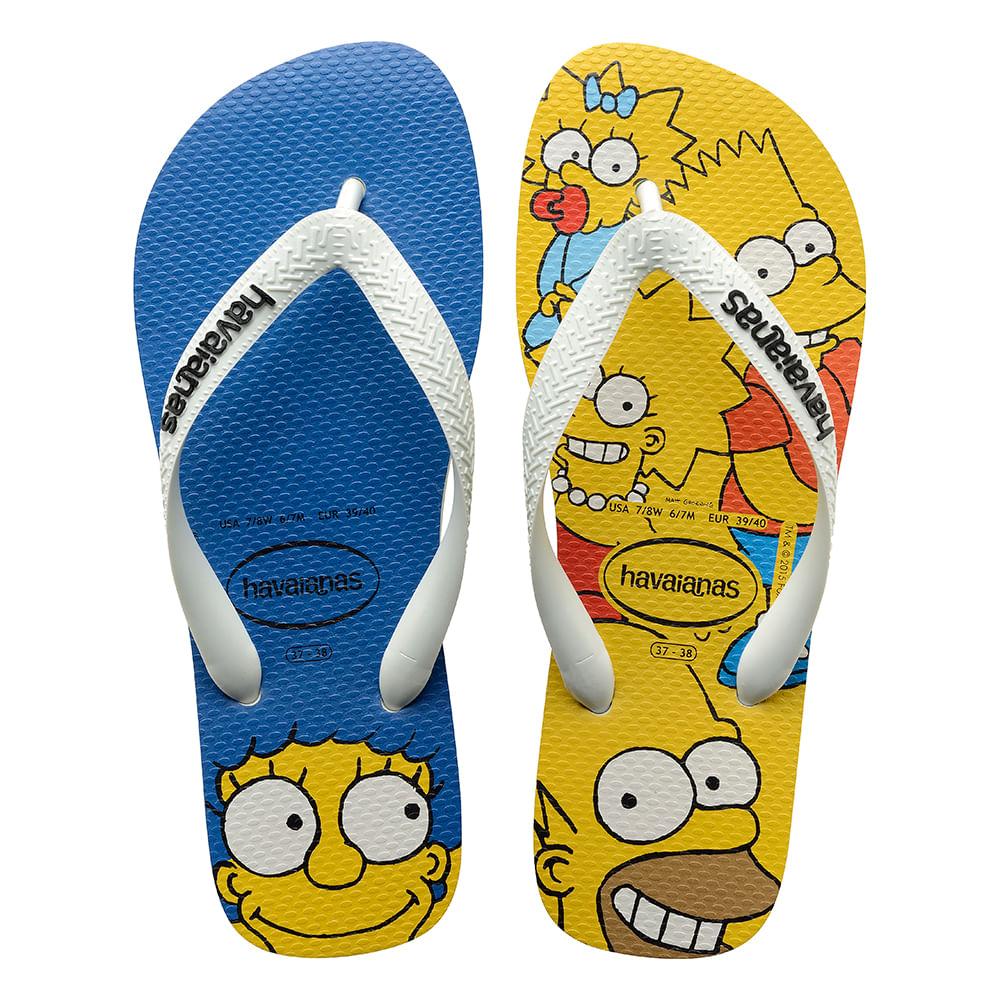 016040157-Chinelo-Havaianas-Simpsons-Branco