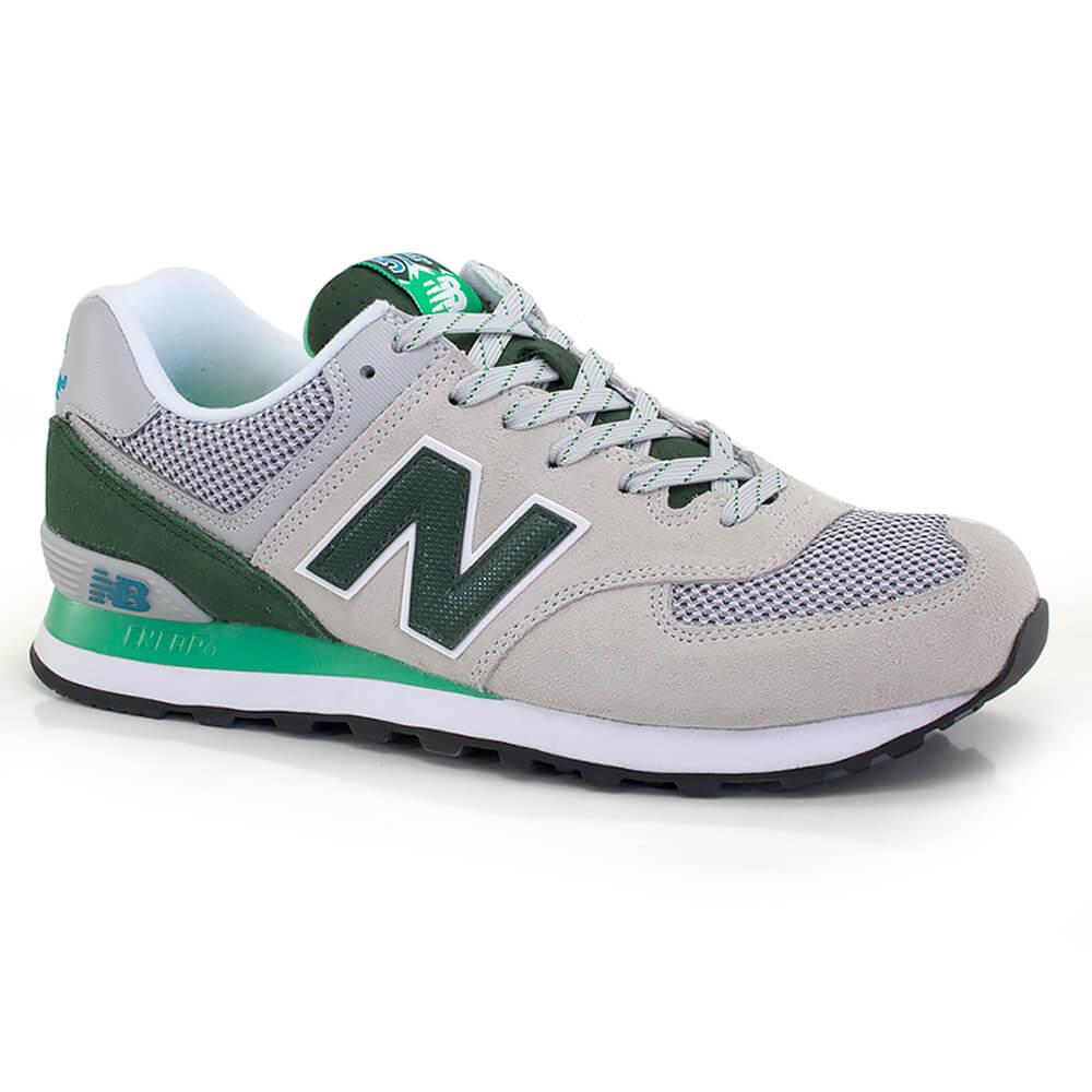 tenis new balance 574 verde