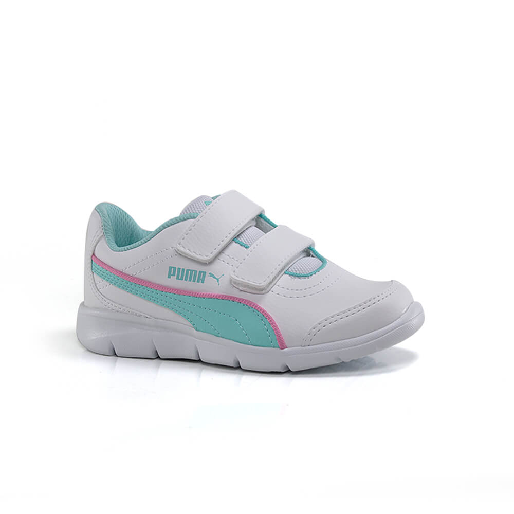 019060359-Tenis-Puma-Stepfleex-Run-SL-Infantil-Feminino-Branco-Pink-Verde-1