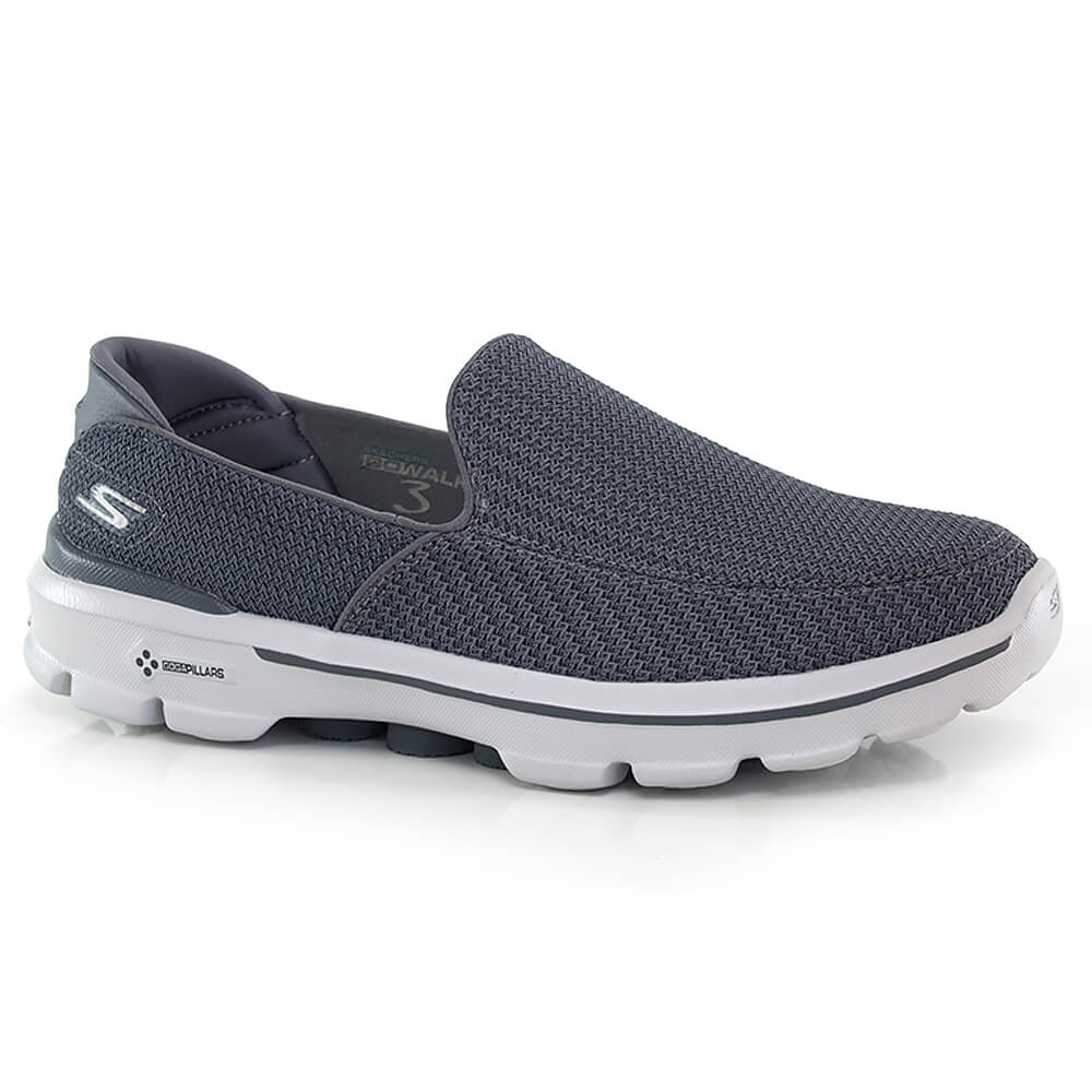 4e98a066e Tênis Skechers Go Walk 3 - Way Tenis