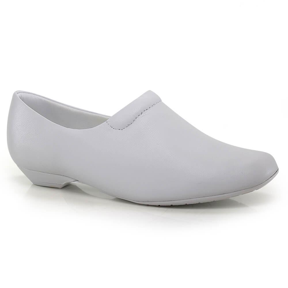 5a18fafa40 Sapato Usaflex Salto Baixo Feminino - Vanda Calçados
