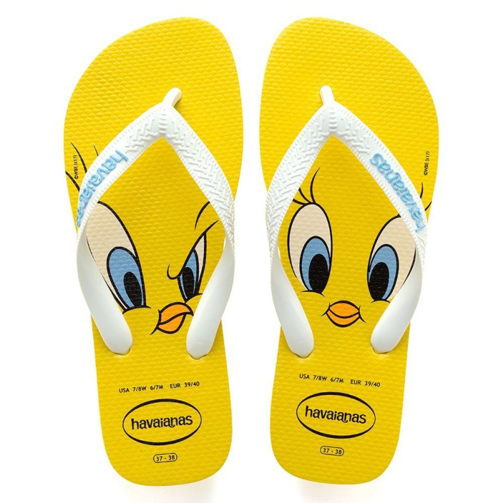 Chinelo Havaianas Looney Tunes