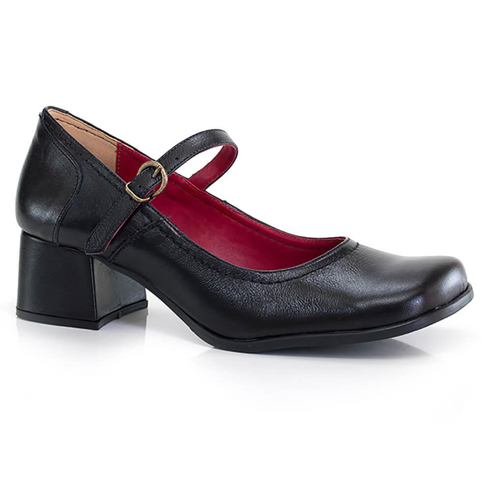 83d1e896b Sapato Boneca Soraya - Salto Médio - Vanda Calçados