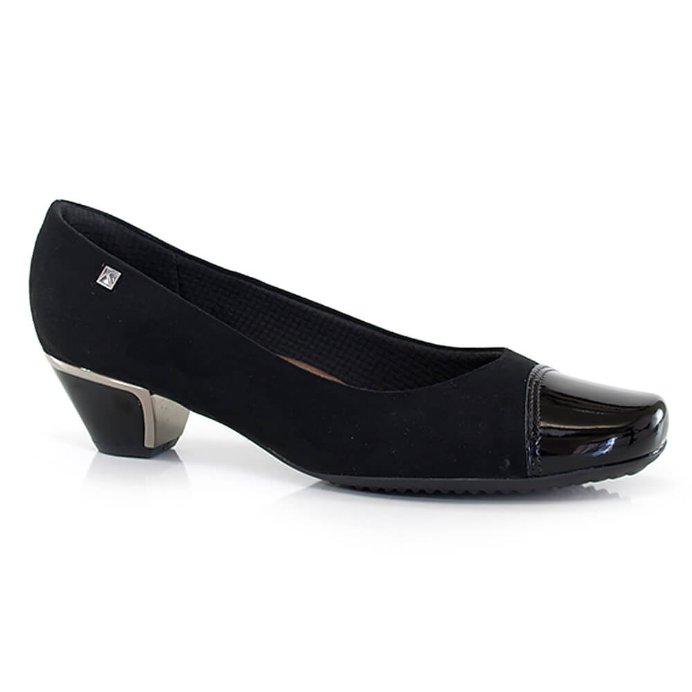 3db8ce67cd Sapato Piccadilly Salto Baixo - MaxiTherapy - Vanda Calçados