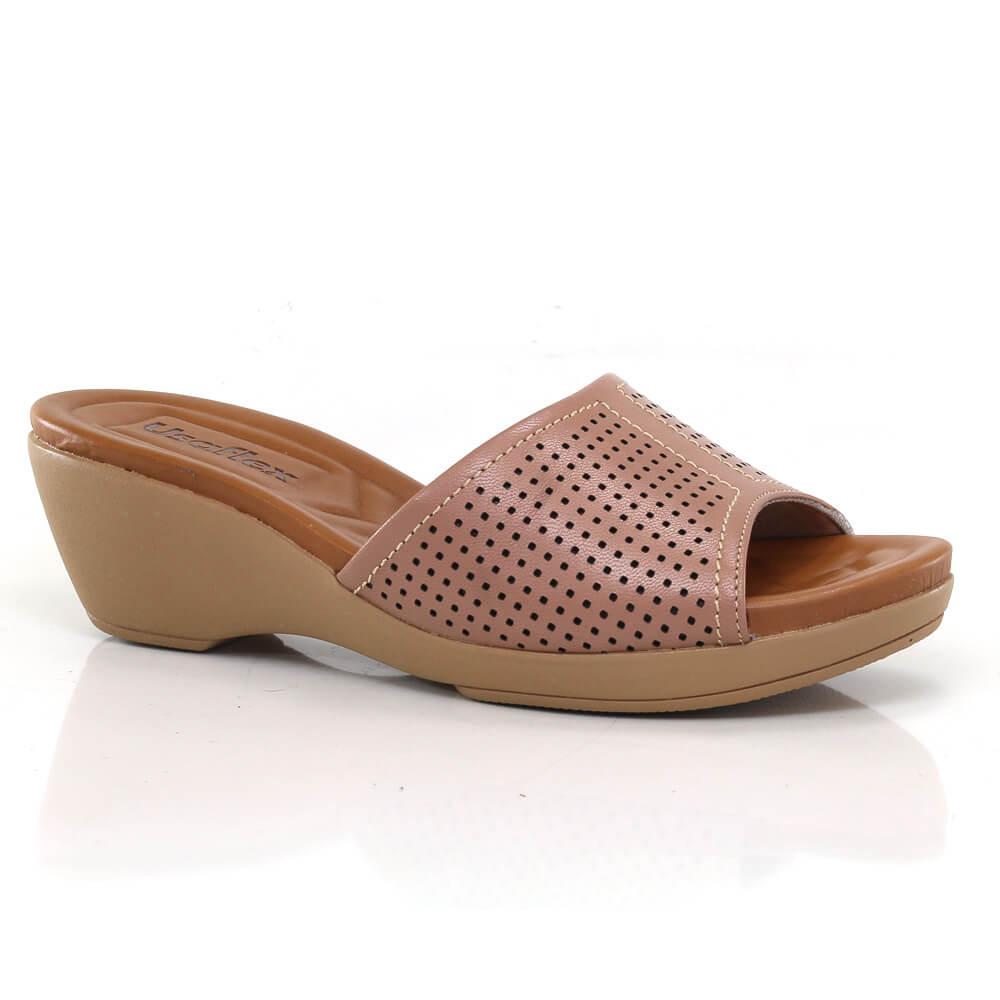 df7037556d Tamanco Usaflex Feminino - Vanda Calçados