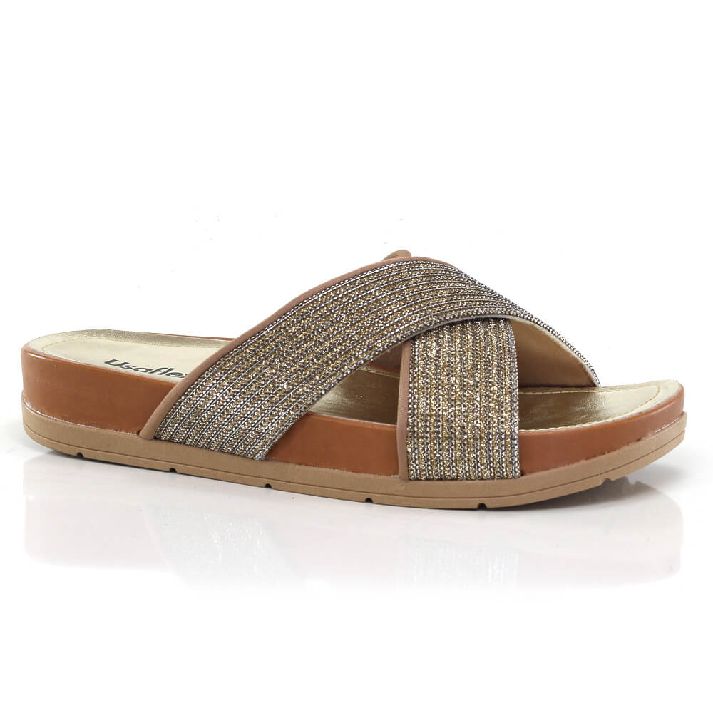0838c5ef6 Sandália Birken Usaflex - Feminina - Vanda Calçados