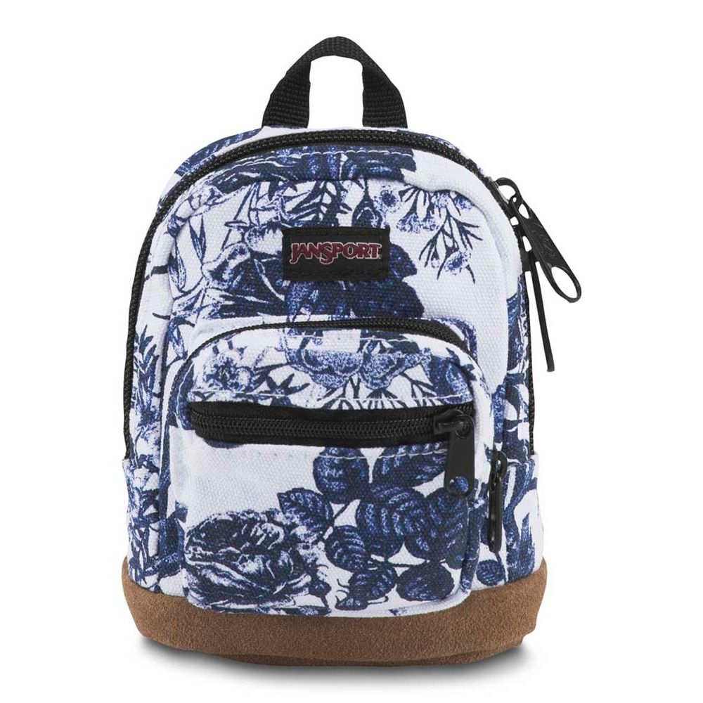 006250188-Mini-Mochila-Jansport-Right-Pouch-32G-Branco-Floral