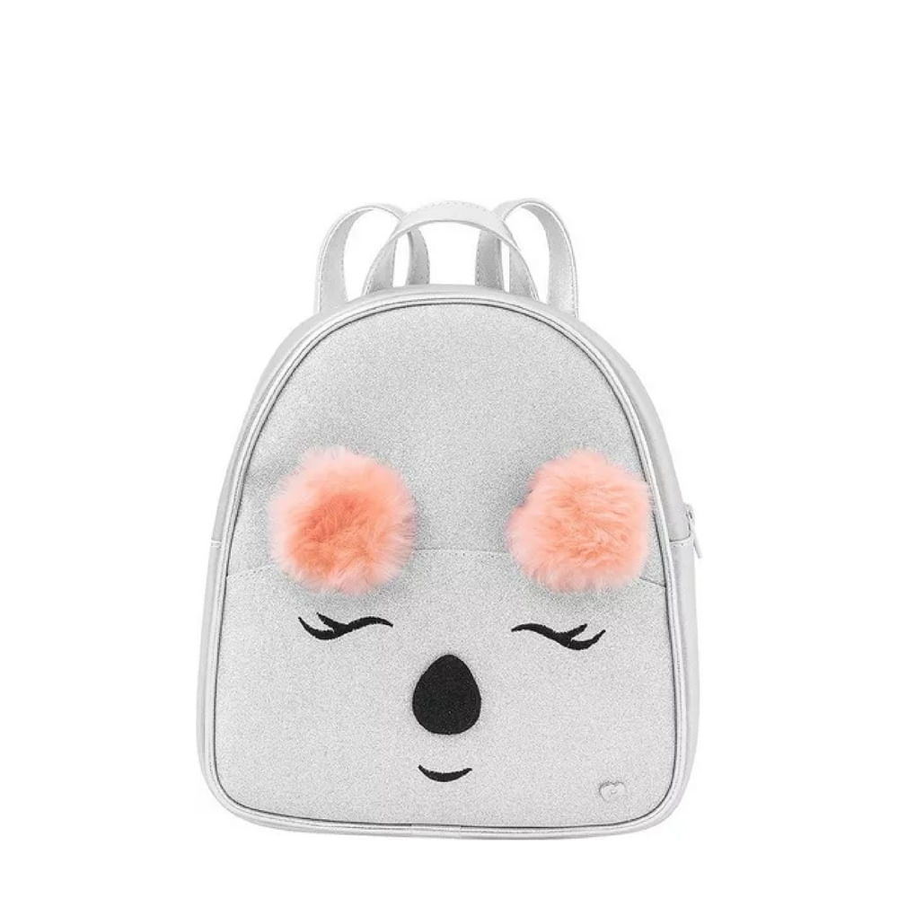 006250191-mochila-pampili-zoo-coala-prata-infantil-menina--linha-zoo-Infantil