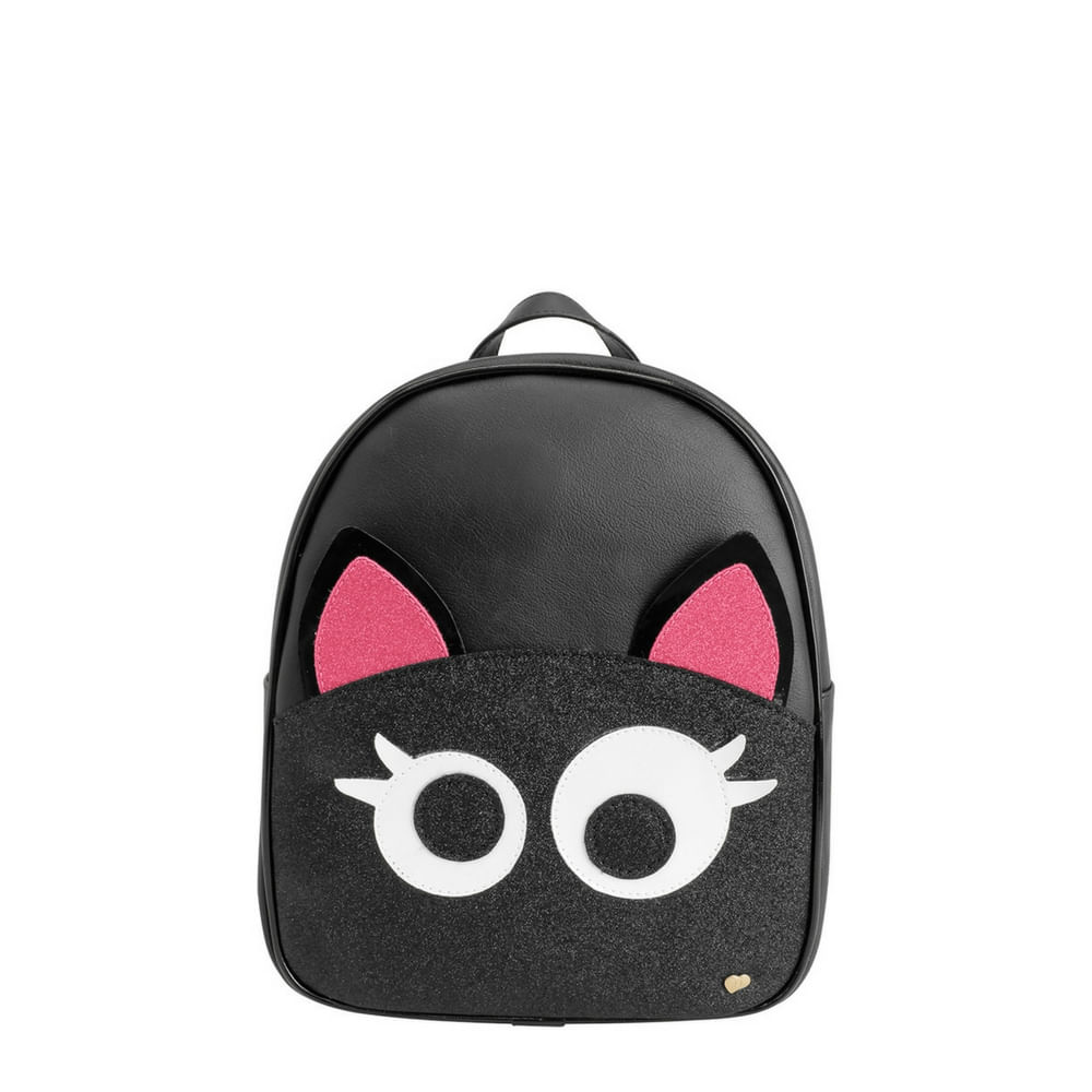 006250194-Mochila-Pampili-gata-preto-pink-600672352-linha-zoo-Infantil