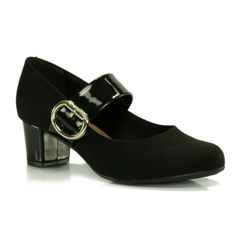 03b66d7de9 Sapato Boneca Beira Rio em camurça - Vanda Calçados