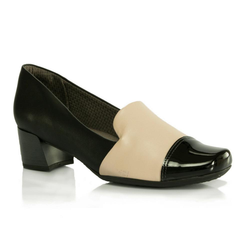 cc2c1826b Sapato Piccadilly em Couro - Joanetes - Vanda Calçados