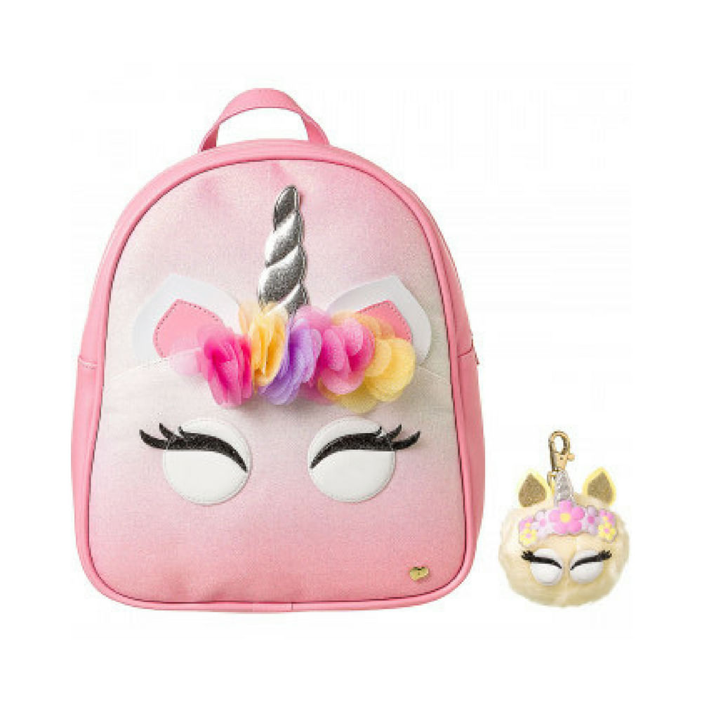600698-Mochila-Pampili-Unicornio-Rosa-Degrade