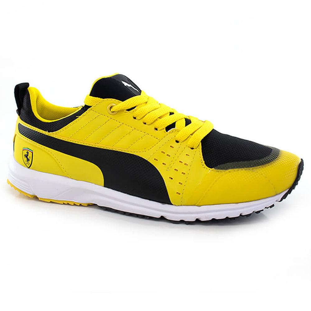 016020666-Tenis-Puma-Pitlane-SF-Masculino-Ferrari-Amarelo