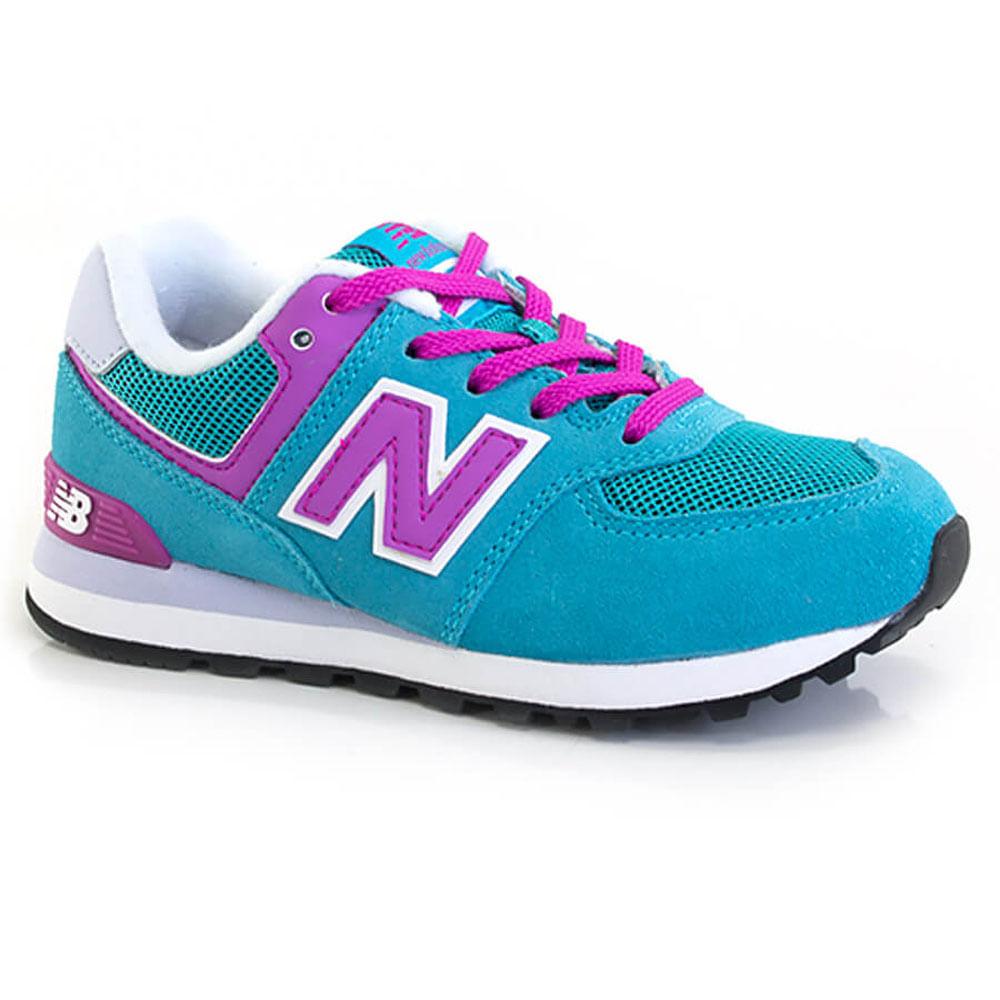 new balance azul rosa