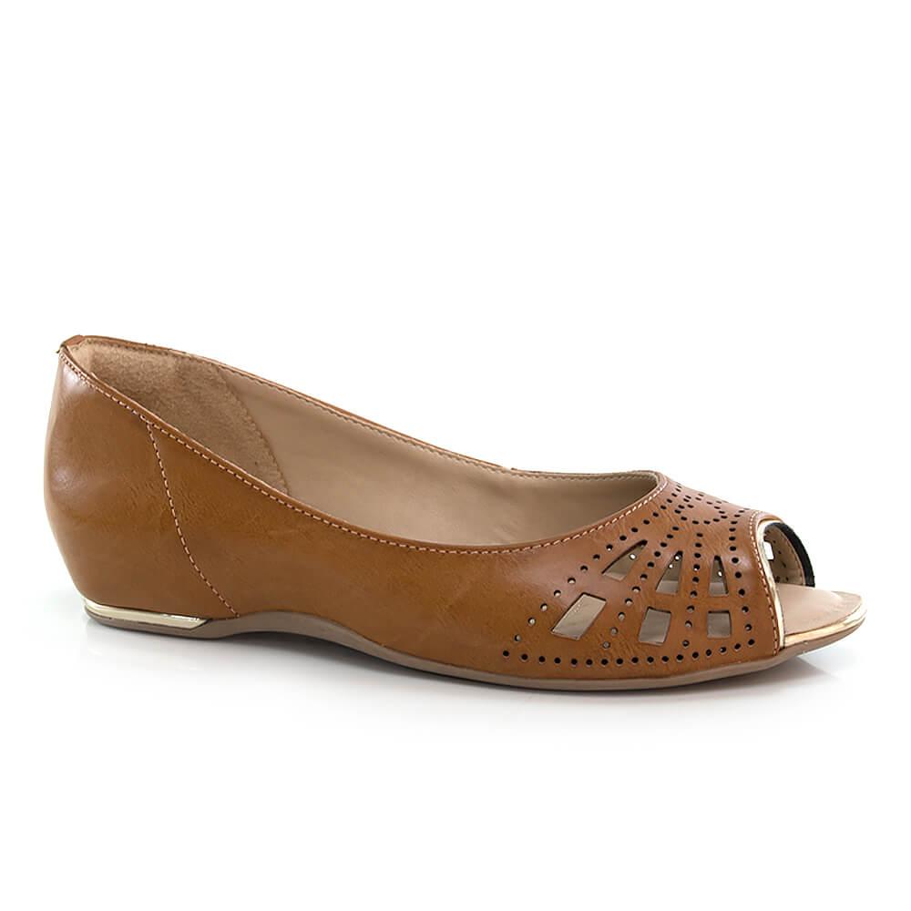 8dbe000e9d Vanda Calçados - Feminino - Peeptoe Comfortflex – Vanda Calçados