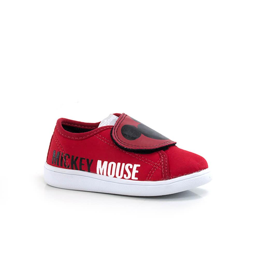 018030404-Tenis-Diversao-Mickey-Velcro-Vermelho