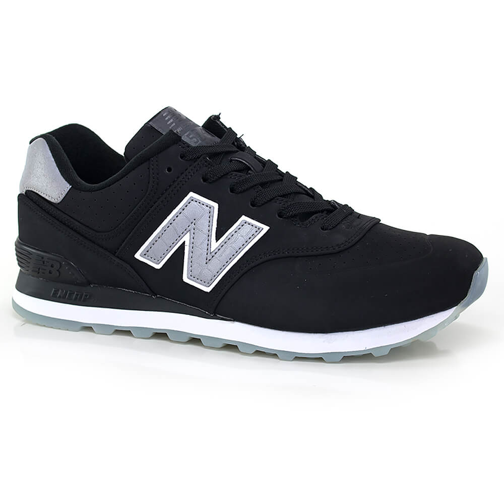 016020838-Tenis-New-Balance-574-Synthetic-Preto-Cinza