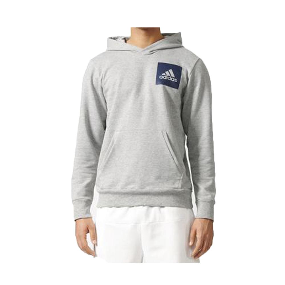 c2967d26637 Moletom Adidas Essentials Logo Hood