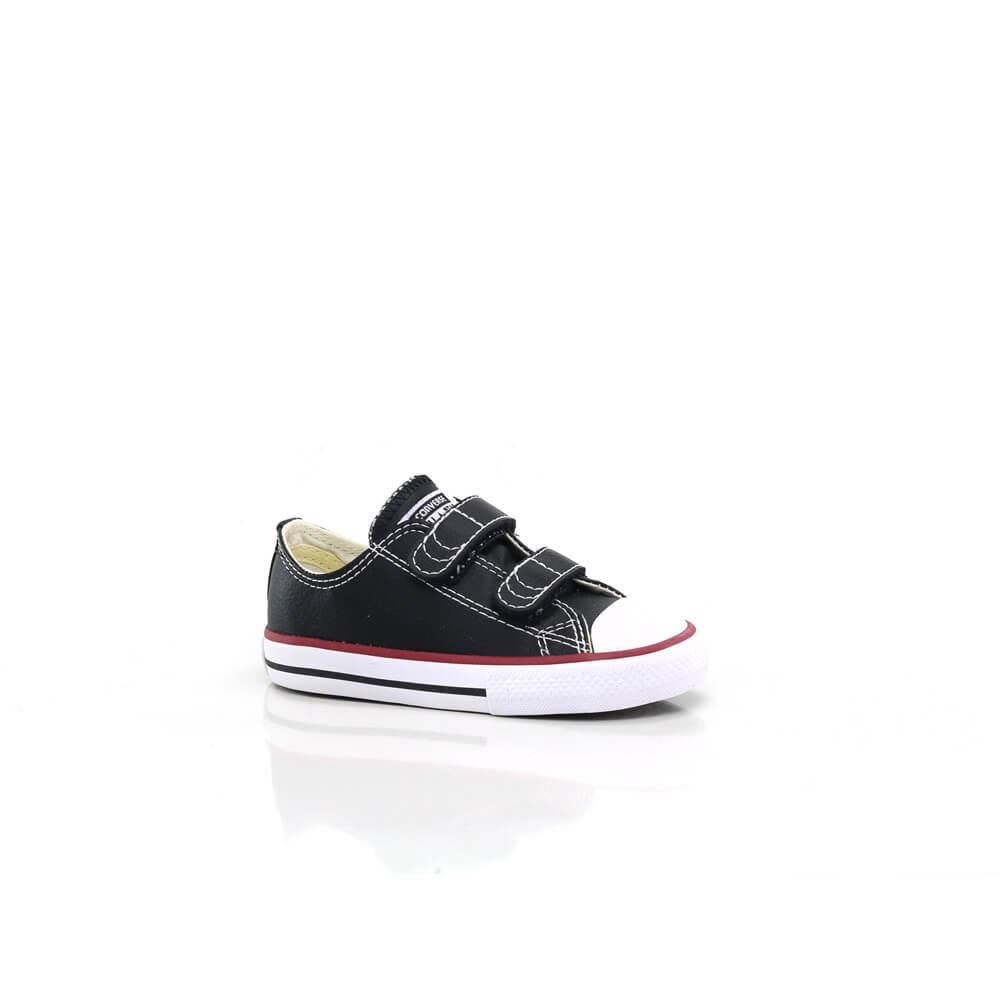 018030484-Tenis-Converse-All-Star-Velcro-Infantil-Couro-Sintetico-Preto