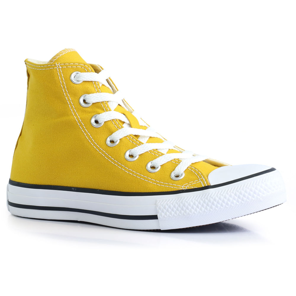 e686ac90f54 Tênis Converse All Star Chuck Taylor - Amarelo - Way Tenis