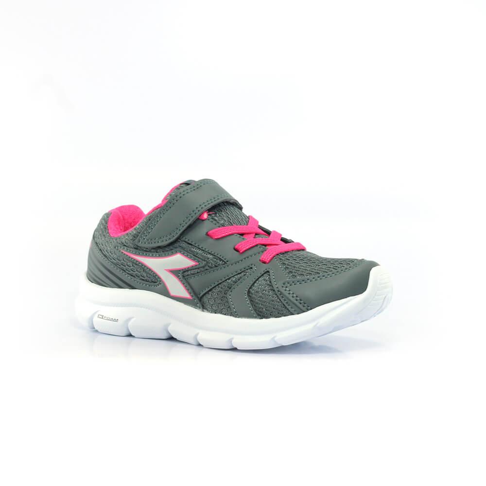 019060437-Tenis-Diadora-Park-Infantil-cinza-grafite-rosa-1