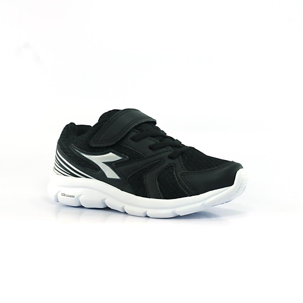 018030498-Tenis-Diadora-Park-Infantil-preto-prata-1