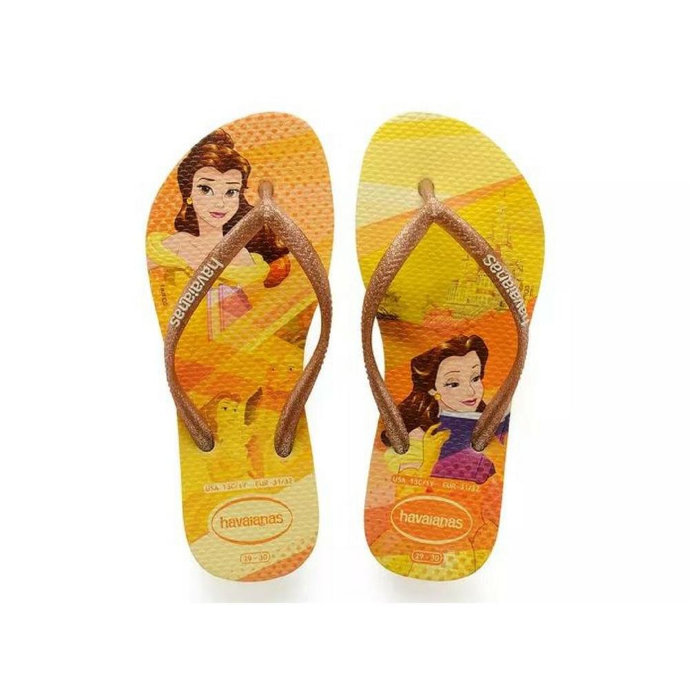 019030073-Chinelo-Havaianas-Slim-Princesas-Amarelo-Bela