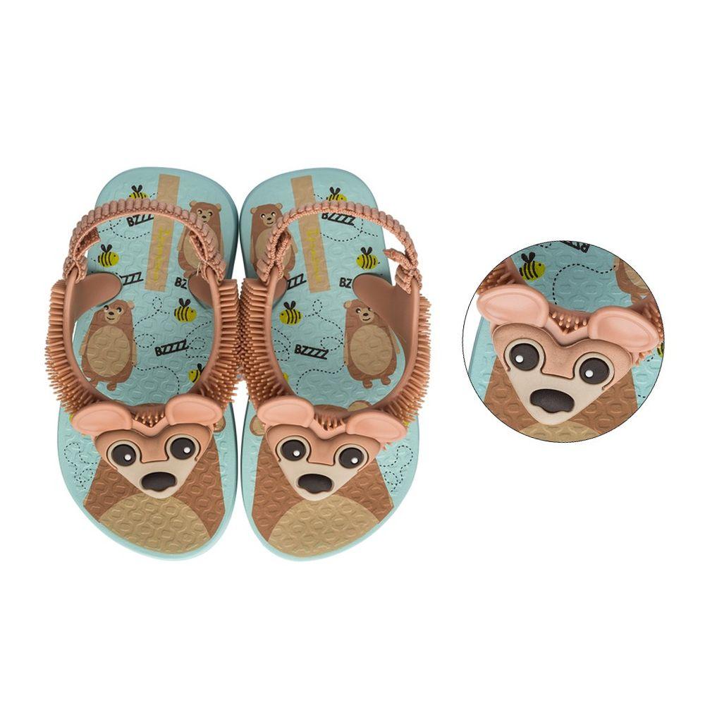 018050141-Chinelo-Ipanema-Baby-Fluffy-Urso-Verde-Marrom