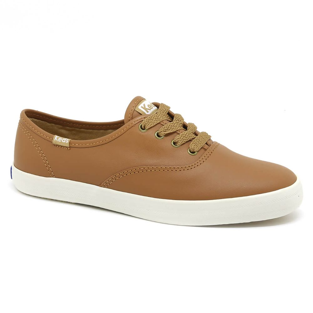 Tenis-Keds-Champion-Leather-Camel-KD102240-1