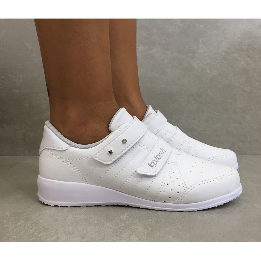Tenis-Feminino-Kolosh-Branco-C0445-com-velcro-feminino--1-