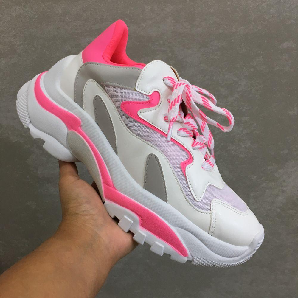 Zatz Chunky Sneakers - Pink - Vanda