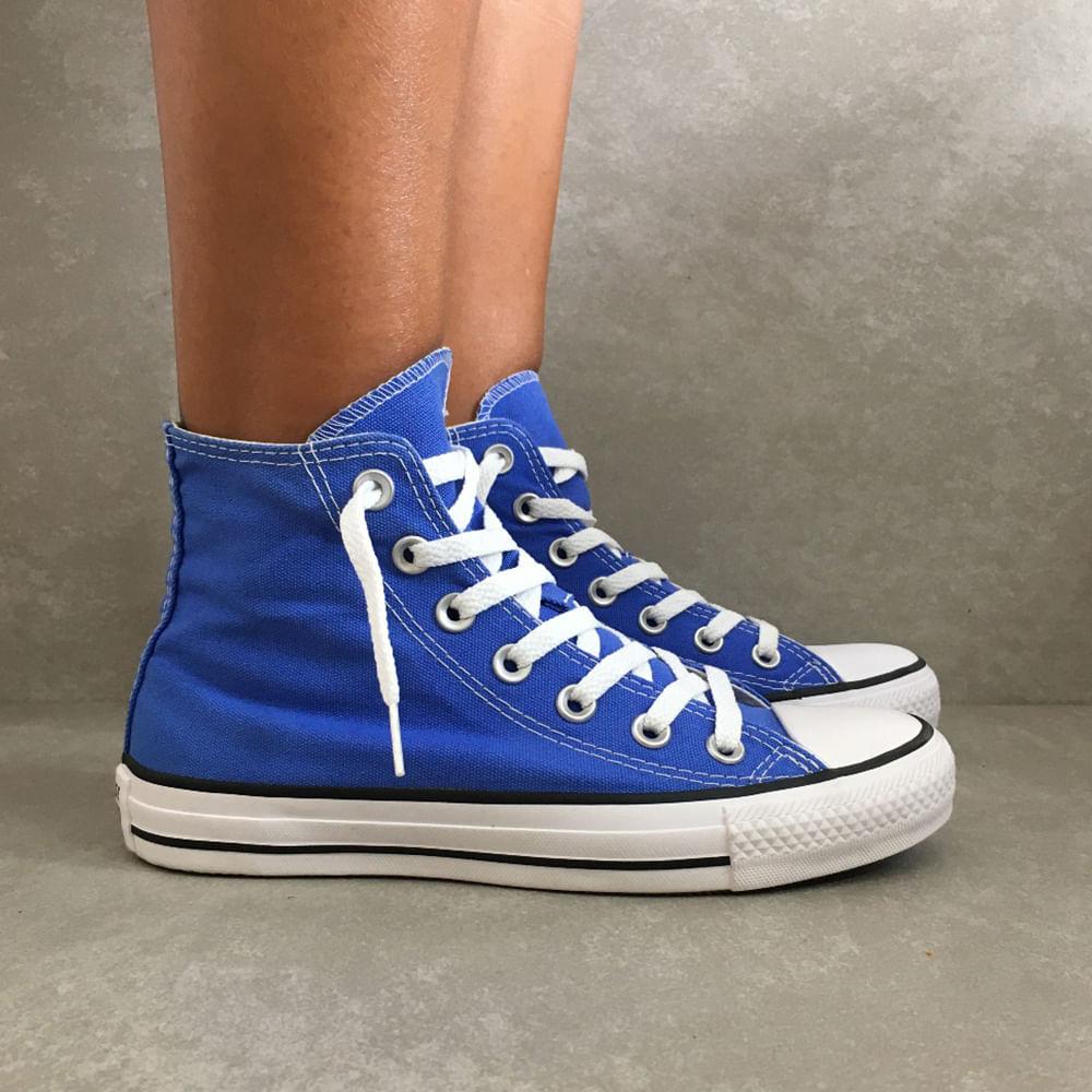 CT0419-Tenis-Converse-All-Star-tradicional-feminino-masculino-unissex-azul-aurora-cano-medio-alto--3-
