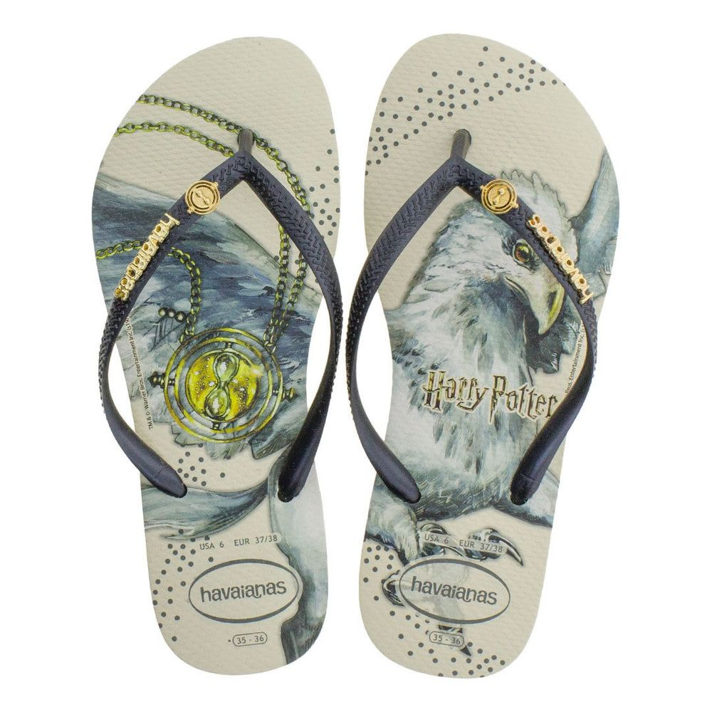 Havaianas-Slim-Harry-Potter-Bege-Palha-Vanda-Calcados