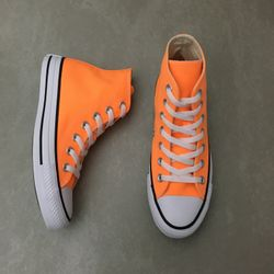 ct0419-tenis-converse-chuck-taylor-mid-laranja-fluor-vandacalcados-waytenis3