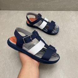 2402427-papete-infantil-molekinho-azul-marinho-branco-com-fivela-para-meninos-vandinha2