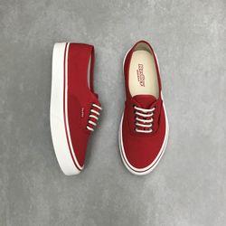 tenis-redley-cano-baixo-com-cadarco-solado-caixa-unissex-vermelho-vanda-calcados-3